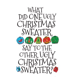 XM/One Ugly Christmas Sweater