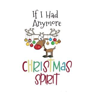 XM/Anymore Christmas Spirit