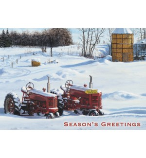 BOXEDCLASSIC/Red tractor