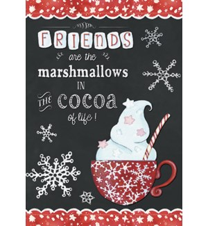 XMAS/Red cocoa cup