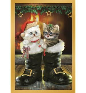 XMAS/Kittens in boots