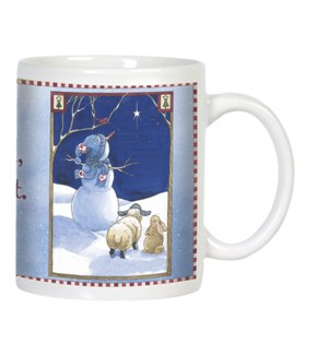 MUG/Snowman & North star