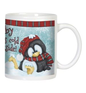 MUG/Penguin wearing hat