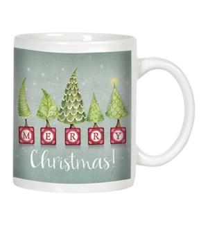 MUG/Whimsical trees