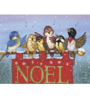 BOXEDNOTE/Birds on NOEL