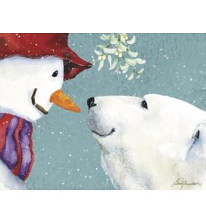 BOXEDNOTE/Snowman & Bear