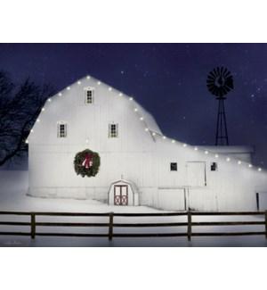 BOXEDNOTE/White barn