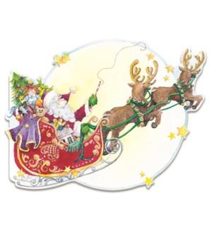 XMBOXEDCARDS/Santa's Sleigh