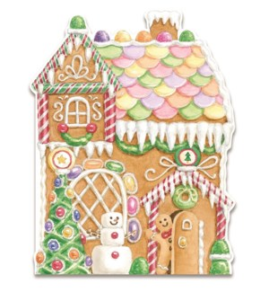 XMBOXEDCARDS/Gingerbread House
