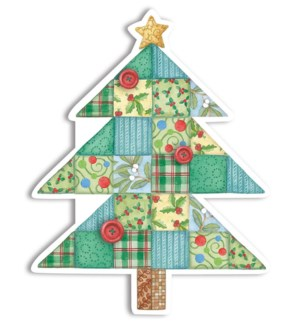 XMGIFTTAGS/Quilted Tree