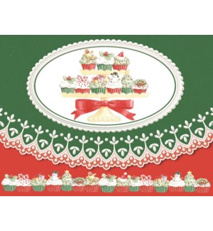 XMPORTFOLIO/Christmas Cupcakes