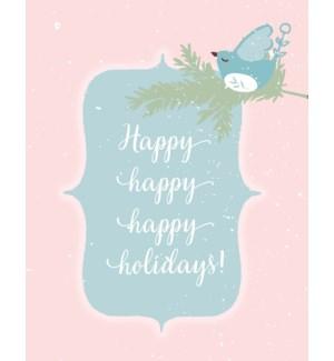XMB/Happy Holidays Bird