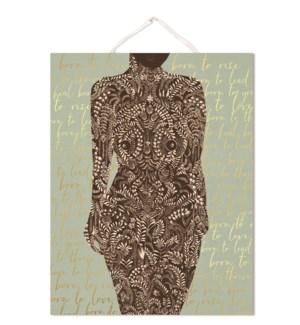 PRINT/Living Woman Art Print