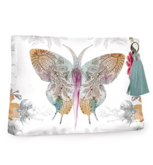 POUCH/Paisley Butterfly Large