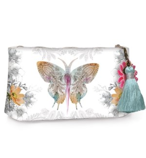 POUCH/Paisley Butterfly Small
