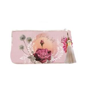 POUCH/Lavendar Rose Sm Pouch