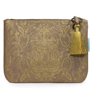 BAG/Paisley Gold