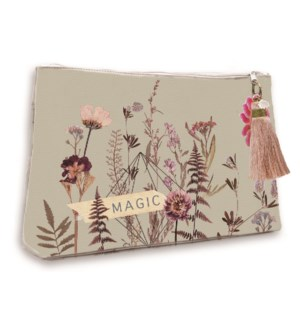 POUCH/Flower Bed Pouch Lg