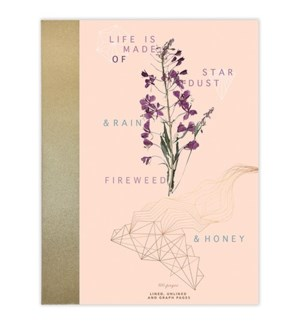 NOTEBOOK/Fireweed and Honey