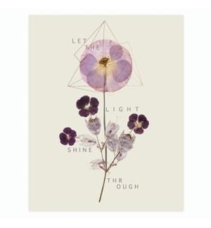 PRINT/Violet Glow