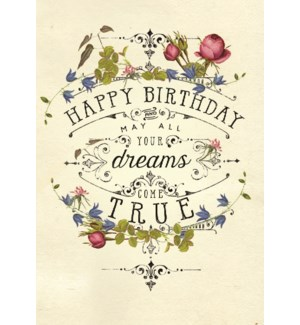 MINI/Birthday Dreams