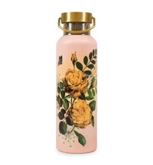 WATERBOTTLE/Yellow Roses