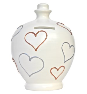 POT/White w/Hearts