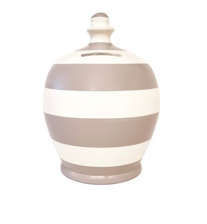 POT/Stripe Light Grey/White