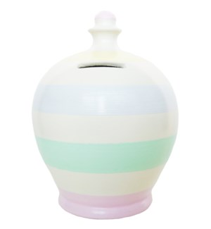 POT/Stripe White/Pastel Stripe