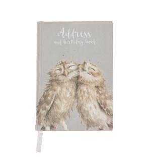 ADDRESSBOOK/Anniversary Owls