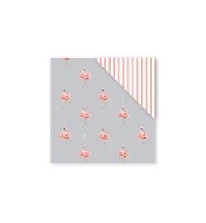 GIFTWRAP/Flamingo Double