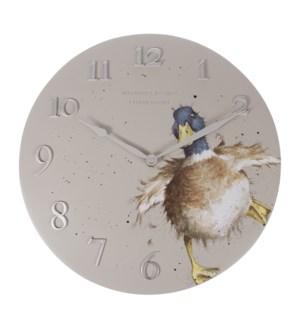 CLOCK/A Waddle & A Quack Duck