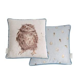 CUSHION/What A Hoot Owl