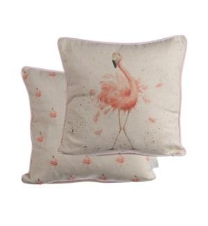 CUSHION/Pink Lady Flamingo