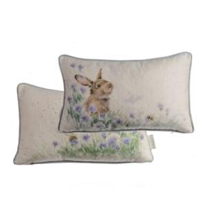 CUSHION/Meadow Rabbit