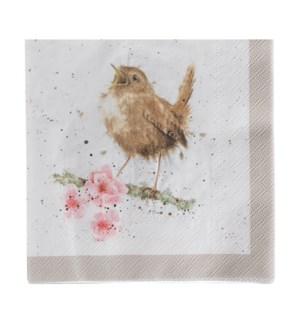 NAPKIN/Garden Birds Lunch