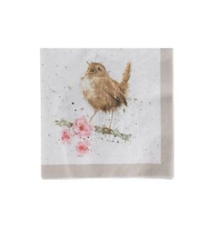NAPKIN/Garden Birds Cocktail