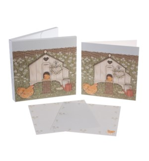 NOTECARD/Hen House