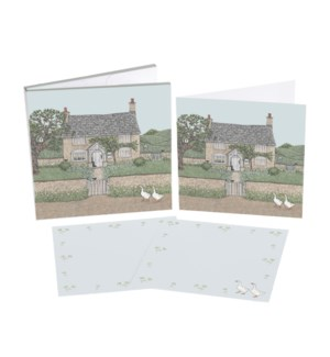 NOTECARD/Country Cottage
