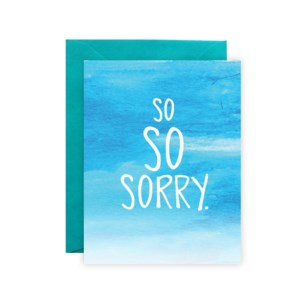 Great Deals Apology Cards
