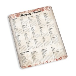 Shopping List Pad