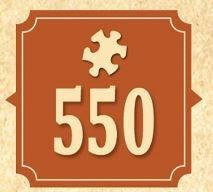 550 Piece Puzzle