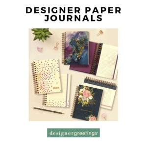 Designer Papers Journals