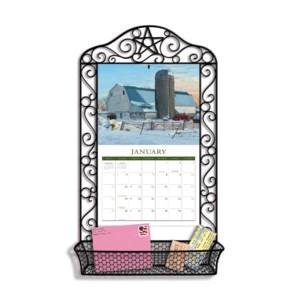 Wrought Iron Calendar Frame