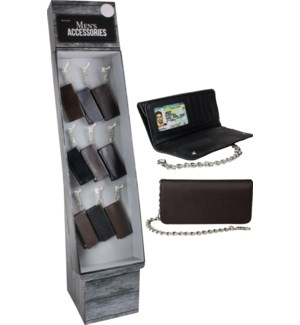 Long Wallet with Chain Shipper - 36pcs