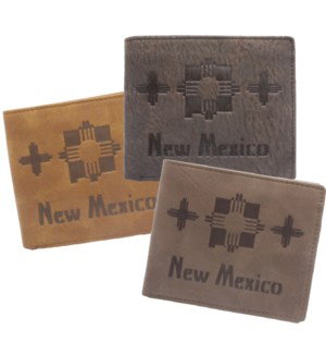 Suede State Wallets - New Mexico