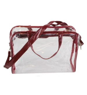 Stadium Tote in Maroon