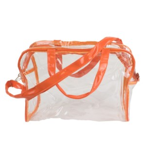 Stadium Tote in Orange