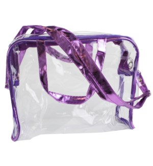 Stadium Tote in Purple