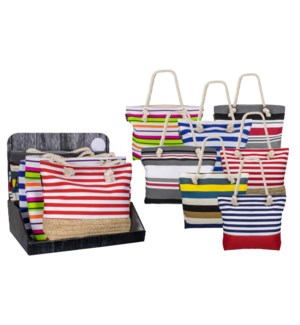 Summer Fun Pack-12 Assortment Totes - 24pcs